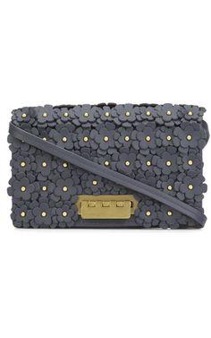 Zac Zac Posen earthette-crossbody-with-floral Magenta Zac Posen, Favorite Holiday, Magenta, Collars, Gifts For Her, Fancy, Handbags, Purses, Shoe Bag