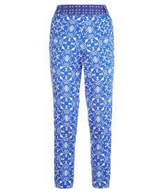 Holywell blue fitted trouser. tahouts.com