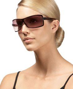 e57ba4e96a3 Nine West Shield Sunglasses Handbags   Accessories - Sunglasses by Sunglass  Hut - Macy s