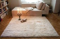 Alpaca Plush offers comfort with luxurious and delightful fur rugs & Home Decor items that will add a lavish touch to your home.:- http://goo.gl/jNXBd3 #Fur_Rug #Alpaca_Fur