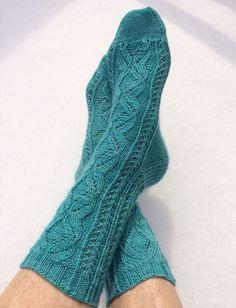 Ravelry: Polar Vortex Socks pattern by Valerie Wagoner