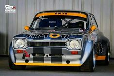 Time Attack Escort. Escort Mk1, Ford Escort, Ford Rs, Car Ford, Ford Capri, Sport Cars, Race Cars, Touring, Space Frame