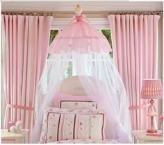 Pottery barn ballerina canopy. Wonder how to make this?