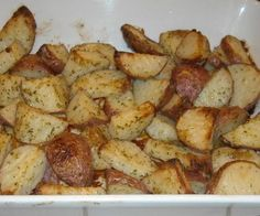 Dinner Sides tonight! ---- Hidden Valley Ranch Roasted Red Potatoes. Photo by NorthwestGal