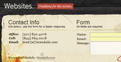 Bcandullo - WordPress Footer Designs