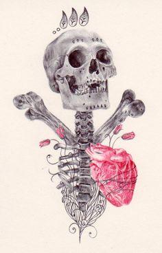 Skull Art by Paul Alexander Thornton ☠️