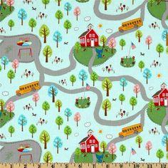 Tissus enfants, Tissu enfants patchwork Pixie Pops de T Treasures est une création orginale de Revedepatch- sur DaWanda