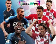 Nhận định Pháp vs Croatia, WC 2018 - Bet98vn