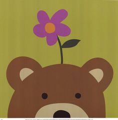 Peek-A-Boo VI Bear by Jin Lau