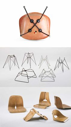 Some of the interesting early #Eames models you'll see when you visit AN EAMES CELEBRATION @vitra @vitrahaus