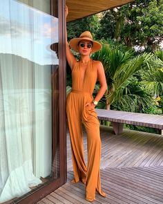Work Looks, Jumpsuits For Women, Summer Looks, Get The Look, Beautiful Outfits, Boho Chic, Going Out, Ideias Fashion, Summer Outfits