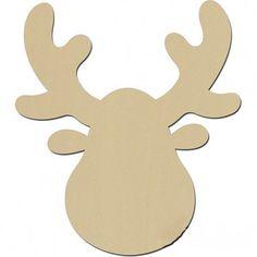 ein elch oder hirschgeweih zum selber gestalten basteln pinterest elch weihnachten und. Black Bedroom Furniture Sets. Home Design Ideas