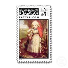 red vintage stamp #redridinghood