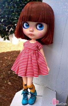 Audrey OOAK Custom Blythe Doll 69 by SweetCrate on Etsy