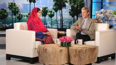 The Nobel Prize winner joined Ellen for premiere week to share her inspiring story and discuss her continuous fight for education.