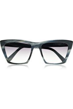 Prism|Sydney square-frame acetate sunglasses|NET-A-PORTER.COM