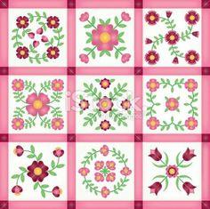 Free Applique Quilt Block Patterns | ... quilt patterns free | Applique Quilt Block Patterns | Patterns Gallery