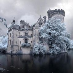 The best french snow castle
