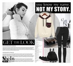 """""""Sheinside"""" by amrakaric ❤ liked on Polyvore featuring moda, Oris, GE i Topshop"""