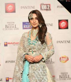 gorguouse iqra Aziz Pakistani Wedding Outfits, Pakistani Wedding Dresses, Pakistani Dress Design, Indian Outfits, Pakistan Bridal, Shadi Dresses, Indian Bridal Fashion, Indian Designer Wear, Lovely Dresses