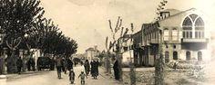 Atatürk Bulvarı Solda Kırkayak parkı  Sağda İnhisar Müdürlüğü  (Şimdi Bayazhan )