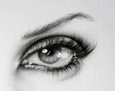 I just LOVE drawings of eyes.