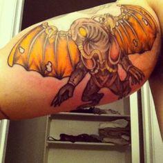 Bioshock Infinite Songbird tattoo