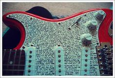 Paramore Lyric Guitar.... AWESOME!