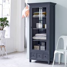 Metal Mesh Cabinet - Sale of Industrial Cabinets on Tikamoon Mahogany Cabinets, Solid Wood Cabinets, Tall Cabinet Storage, Locker Storage, Cupboard Shelves, Cupboards, Dressers For Sale, Armoire Design