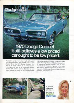 1970 Dodge Coronet Advertisement Newsweek October 13 1969 (by SenseiAlan)