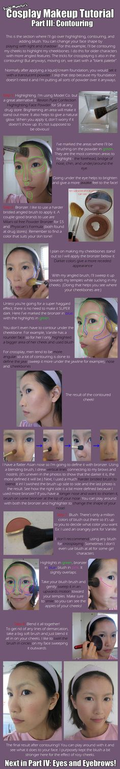 Cos Makeup Tutorial Part III by *the-sushi-monster on deviantART