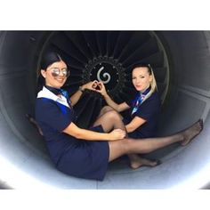 Happy Flight! @jankamartiniak ✈️ • #flightattendant #azafata #aviationlovers #stewardess #legs #beauty #smile #uniform #bestcrew #airport #airbus #trollydolly #aviation #crew #bestjob #avgeek #flygirl #flightattendantlife #flywithme #fashion #crewfie #boeing #cabincrew #crewlife #pantyhose #nylons #stockings #tcp #crewlove #angelsairways