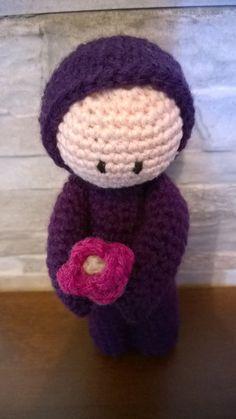 Crochet Boy with flower by JustynaCrochet on Etsy