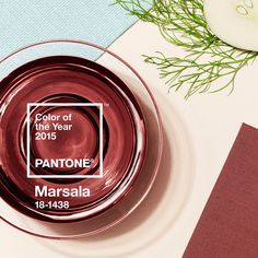 It's here! The @WSJ announces the Pantone Color of the Year for 2015 is #Marsala #ColoroftheYear