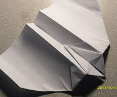 The Ultimate Paper Airplane: I love paper airplanes. And so, I have decided to show my love with this paper airplane tutorial. Paper Airplane Folding, Paper Folding, Fly Paper, Airplanes, Origami, Crafting, Planes, Origami Paper, Aircraft
