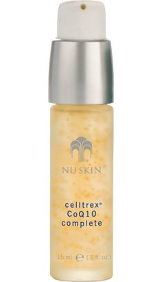 Celltrex Complete Supplies combination of colorless carotenoids and vitamins C and E for a complete antioxidant network of protection against skin-damaging free radicals. Promotes essential cellular energy production for a radiant youthful ap Nu Skin, Cellular Energy, Oxidative Stress, Tips Belleza, How To Increase Energy, Anti Aging Skin Care, Makeup Collection, Face Care, Skin Care Tips