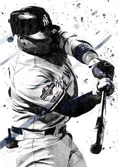 Gleyber Torres by Smh Yrdbk My Yankees, New York Yankees Baseball, Baseball Art, Baseball Stuff, La Dodgers Players, Mlb Players, Baseball Players, Baseball Wallpaper, Gleyber Torres