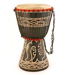 Ghanaian Djembe Hand Drums