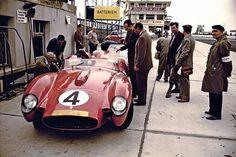 Nurburgring 1958. Ferrari 250TR,Hawthorn / Collins.