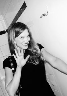 Lea Seydoux as a muse for Lizzy.