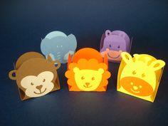 Forminhas para docinhos tema Safari. Compre no www.elo7.com.br/embalax