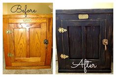 DIY: Refinishing Old Furniture - for the spare bedroom set