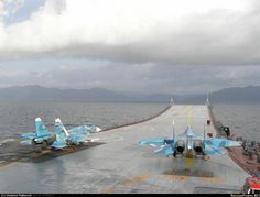 Russian Navy Sukhoi Su-33 Ready For A Take Off