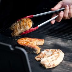 One Good Find: Non-Stick Grilling Sheet   SAVEUR. Great too for when you need to cook gf on someone else's grill.
