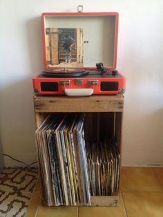 Idea para organizar tus discos