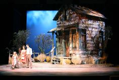 The Trip to Bountiful. South Coast Repertory. Scenic design by Tom Buderwitz.