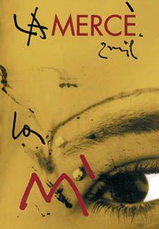 Cartell de la Mercè 2000. Disseny de Jordi Benito.