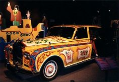 The Beatles Rolls Royce Limo. Coolest car ever.
