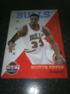 Scottie Pippen Brand New * 2011-12 Past & Present * NBA Basketball Card Chicago Bulls Free Ship $2.00