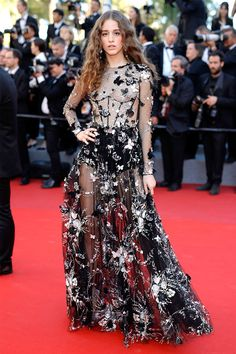 Coco Konig at the Ismael's Ghosts premiere and Opening Ceremony, Cannes 2017